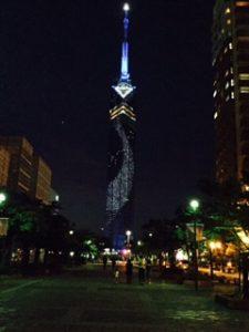 福岡タワー前景