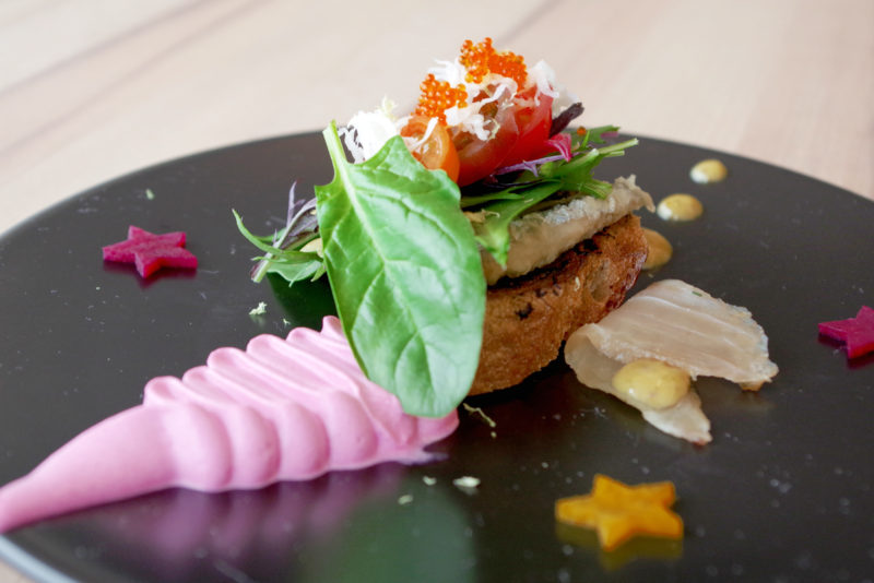 プレジールランチ(冬コース・全6品) 糸島の冬野菜とオードブルの盛り合わせ