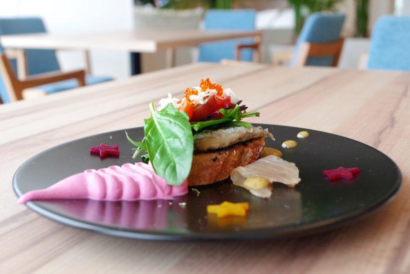 ベルヴュランチ(冬コース・全7品) 糸島の冬野菜とオードブルの盛り合わせ