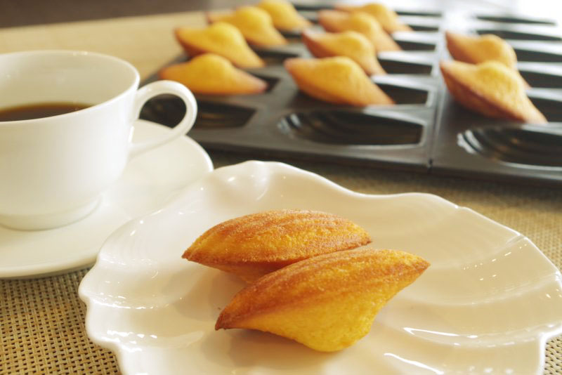 パスタランチ オレンジの香り豊かな焼き立てマドレーヌ(追加300円)