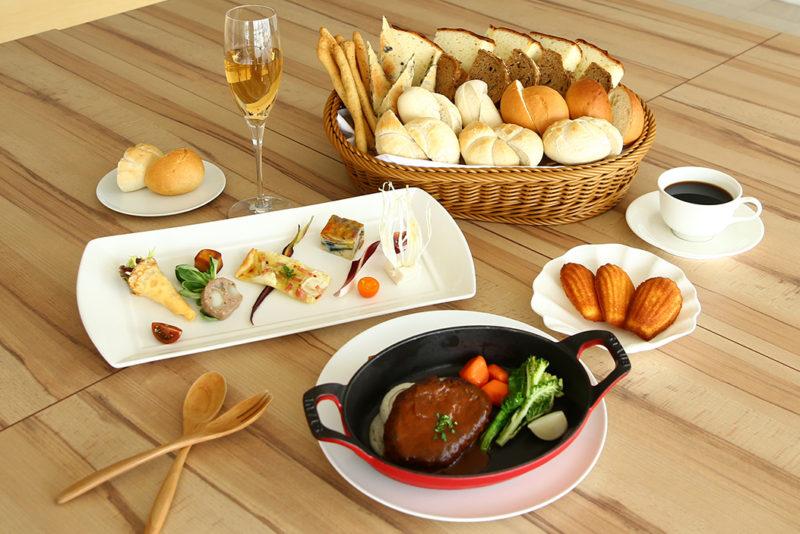 七五三ランチ 糸島の食材を中心としたブルシエールのランチをお楽しみください