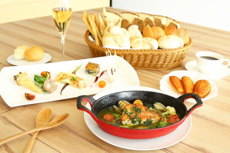 プレジールランチ 旬の糸島野菜を様々なスタイルで
