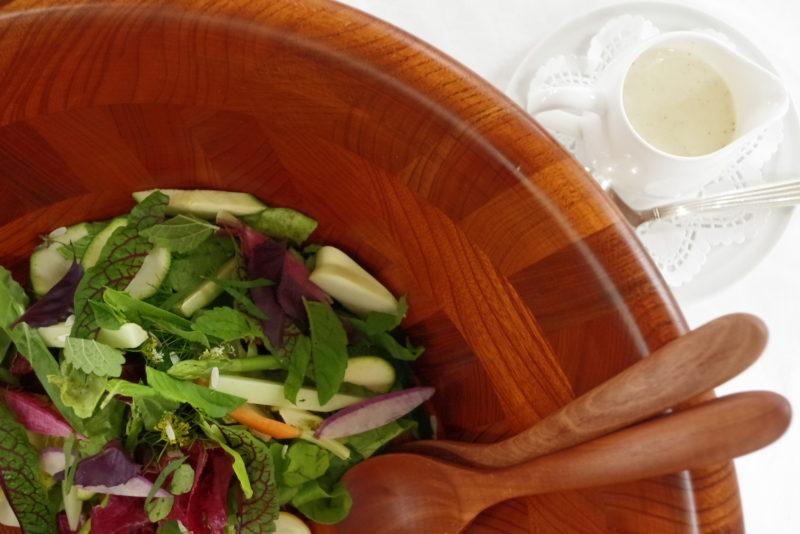 ムニュ ブイヤベース メール 糸島野菜のサラダ