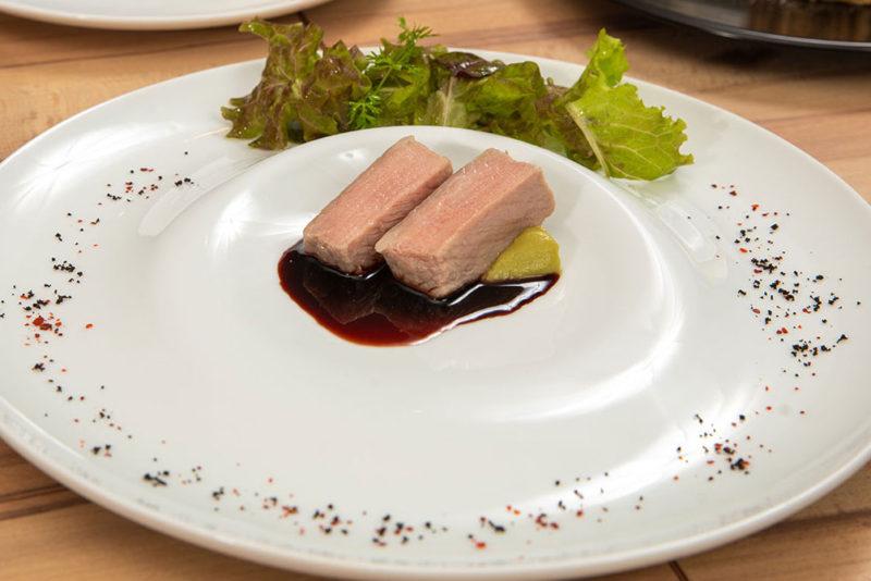 Menu Chef シェフのおすすめコース 本日の肉料理
